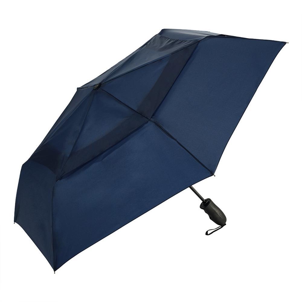 Vented Auto Open/Close Umbrella-Navy