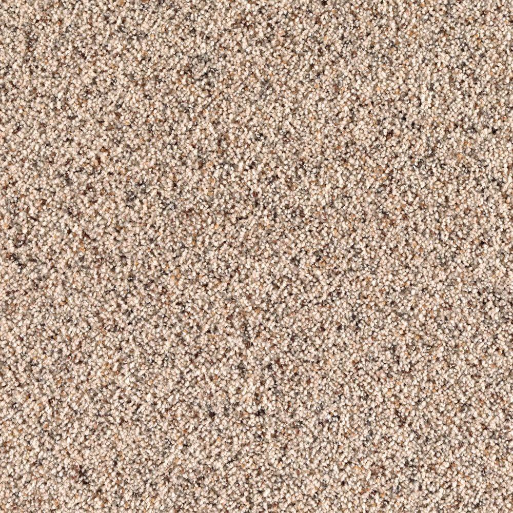 null Legends Lane II - Color Sand Dollar Texture 12 ft. Carpet