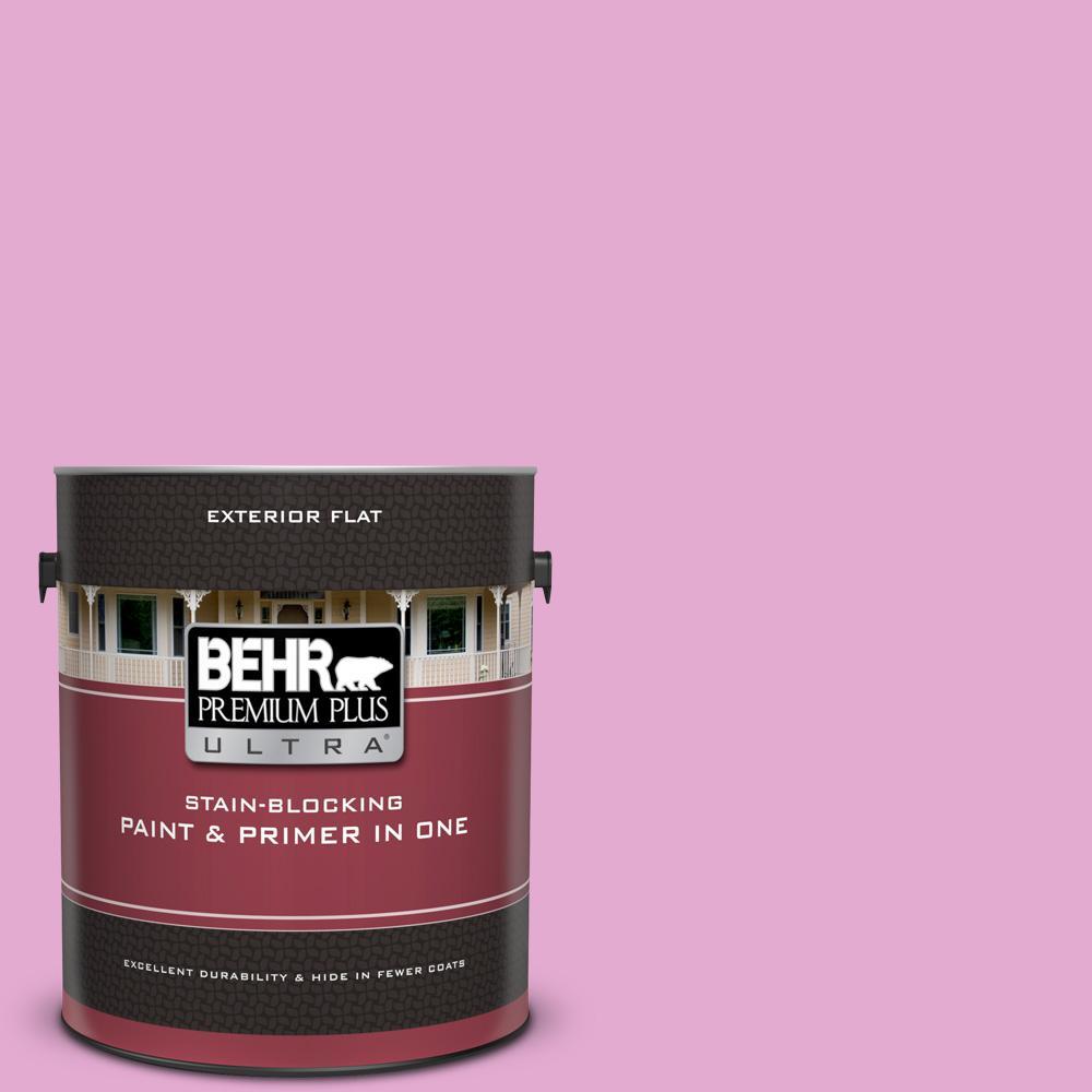 680a 3 Pink Bliss Flat Exterior Paint