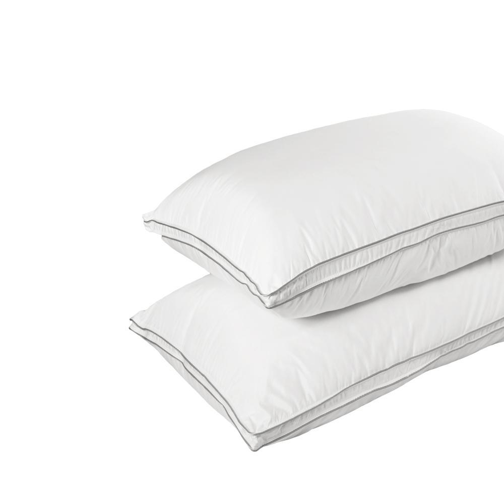Allergy Shields Hypoallergenic Down Alternative Queen Pillow (Set of 2)