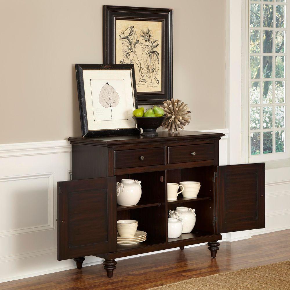 Home Styles Espresso Wood Buffet