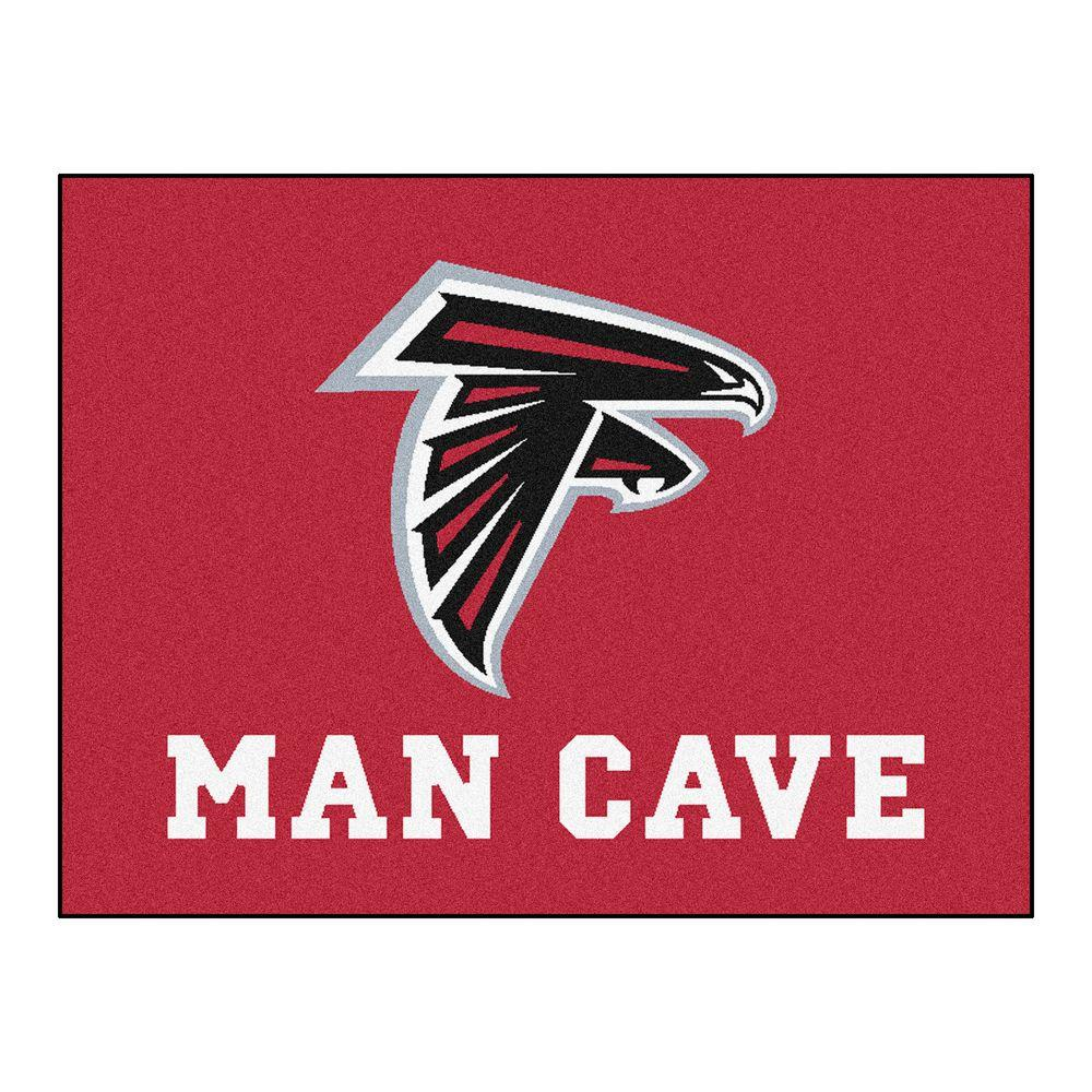 Fanmats Atlanta Falcons Red Man Cave 2 Ft 10 In X 3 Ft