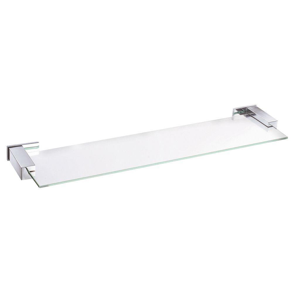 Danze Sirius 24 in. Glass Shelf in Chrome-D446135 - The Home Depot