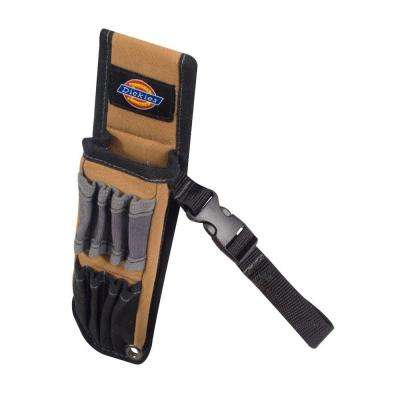 5-Pocket Large Pliers Pouch and Small Tool Holder, Tan