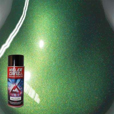 12 oz. Base Pearls Jewel Green Killer Cans Spray Paint