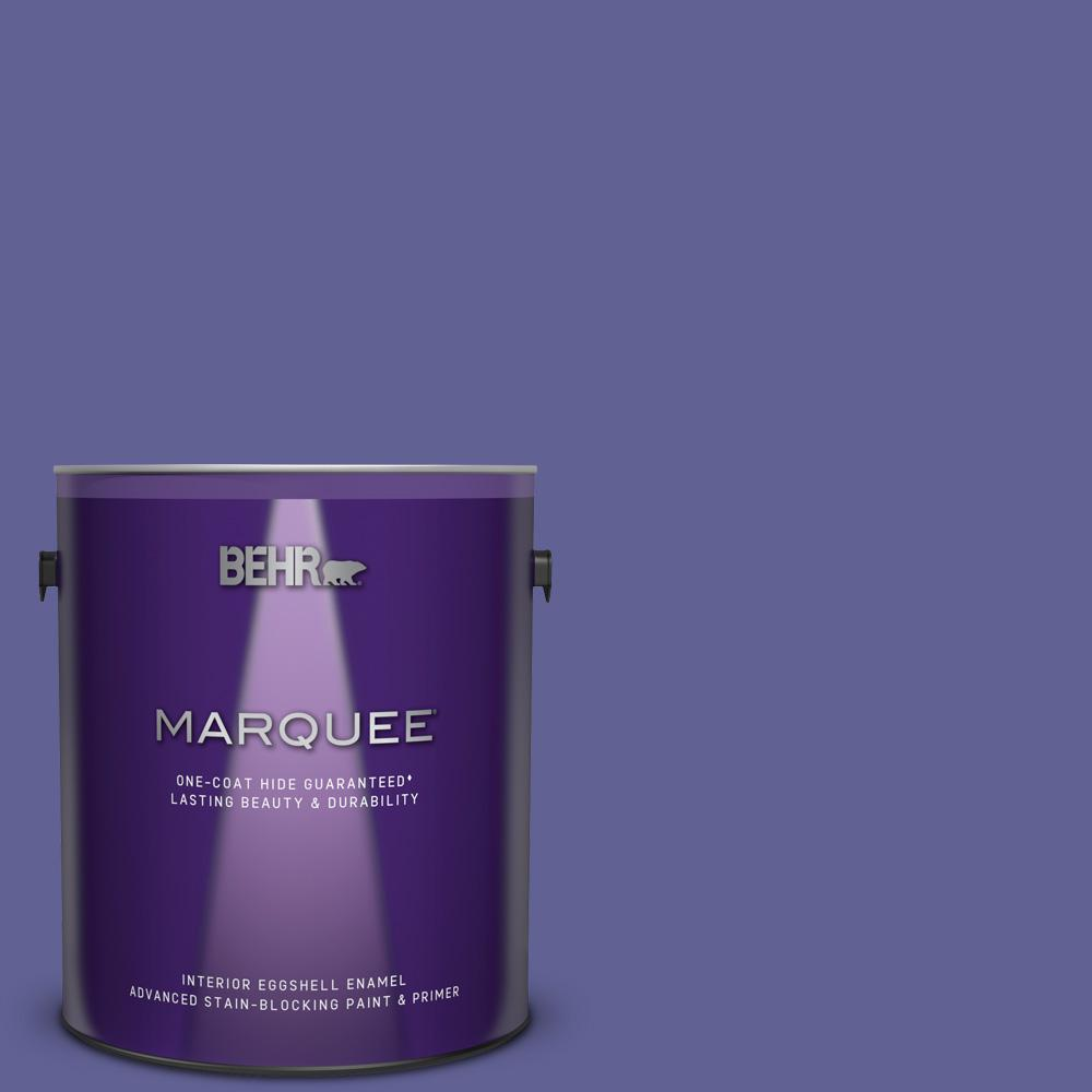 T15 13 Prime Purple Eggshell Enamel Interior Paint And Primer In One