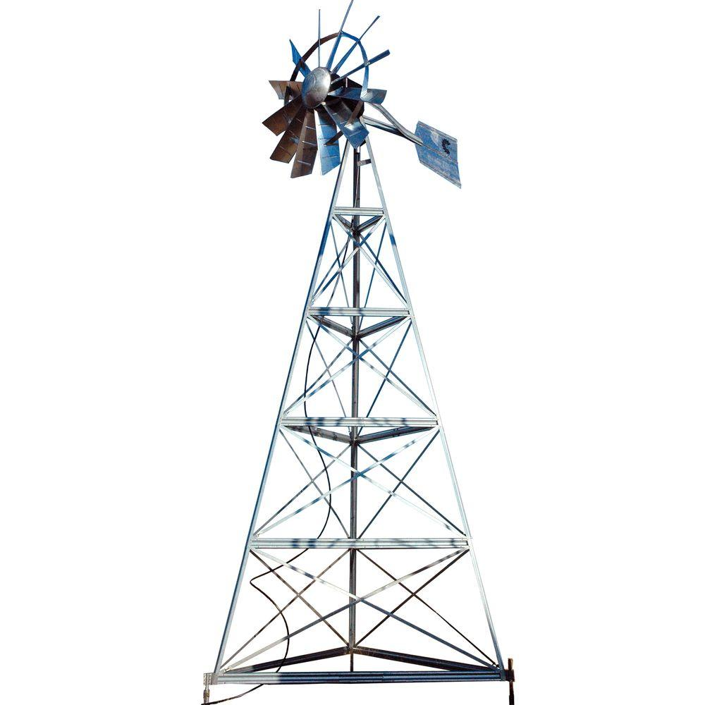 Outdoor Water Solutions 20 ft. Windmill Aeration System