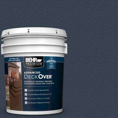 5 gal. #SC-101 Atlantic Textured Solid Color Exterior Wood and Concrete Coating
