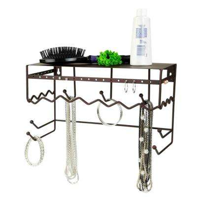 13 in. Jewelry and Accessory Hanging Organizer