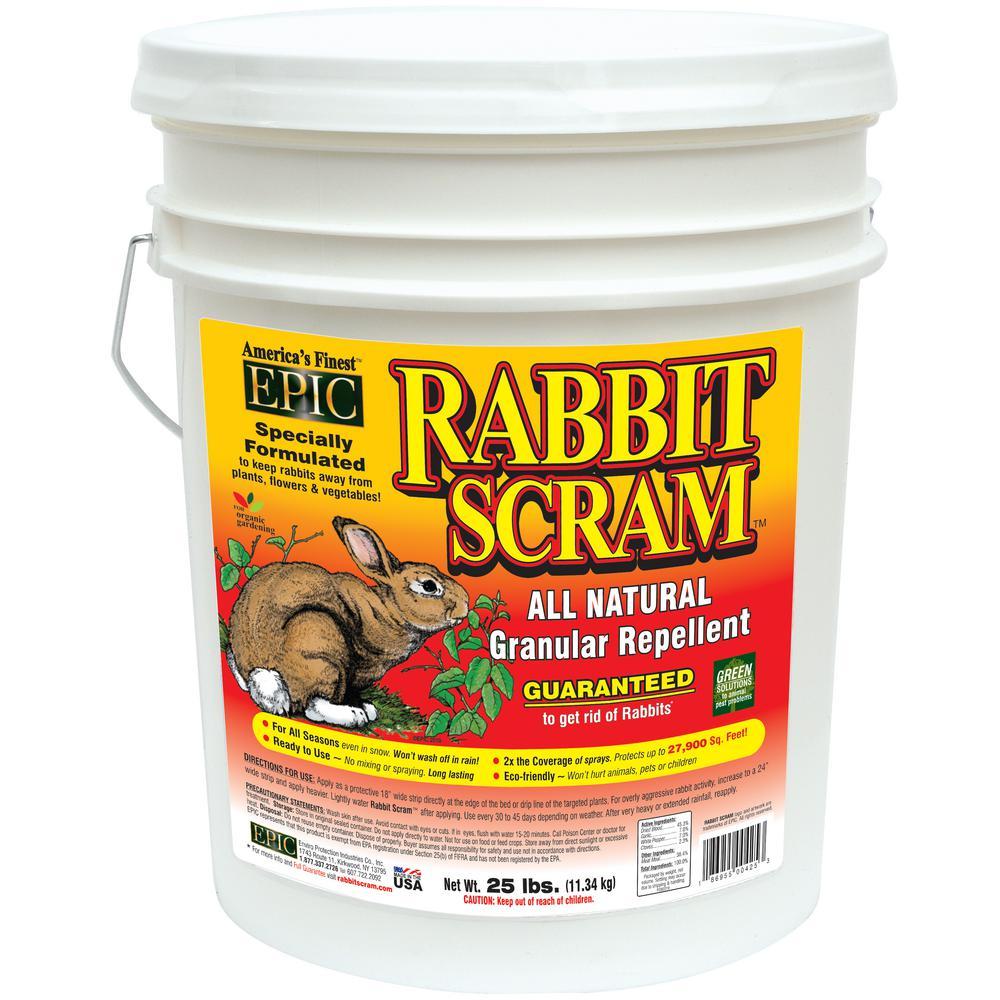 25 lbs. Rabbit Repellent Granular Pail
