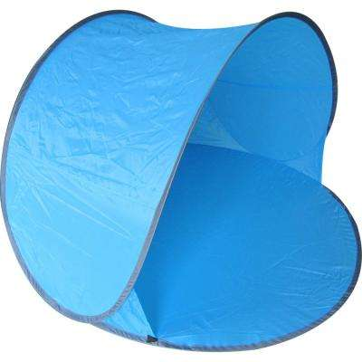 Pop-Up Beach Relaxation Tent in Blue