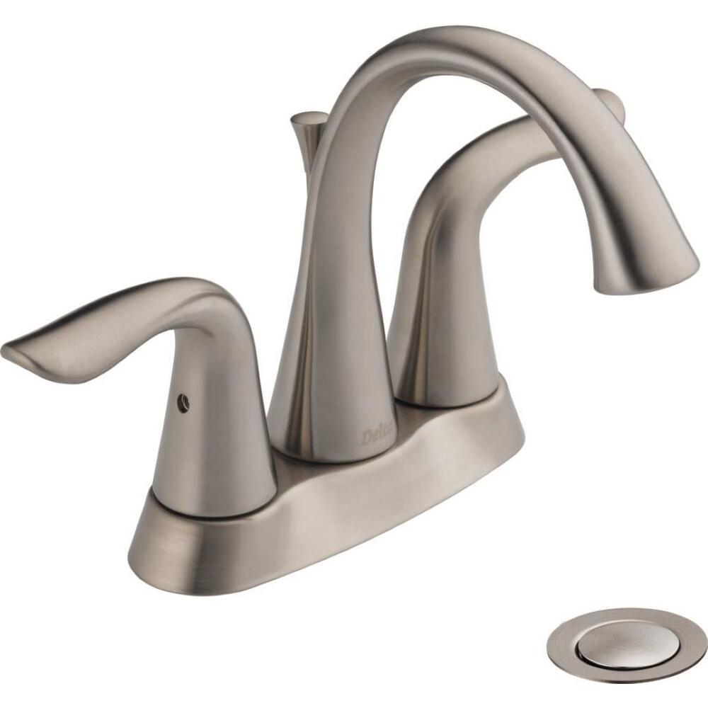 Pop Up Drain Centerset Bathroom Faucets Bathroom Sink Faucets The Home Depot