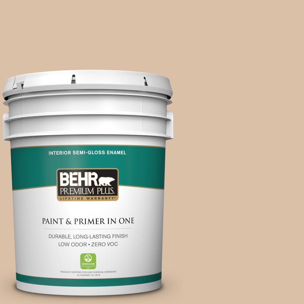 BEHR Premium Plus 5-gal. #BXC-77 Riviera Retreat Semi-Gloss Enamel Interior Paint