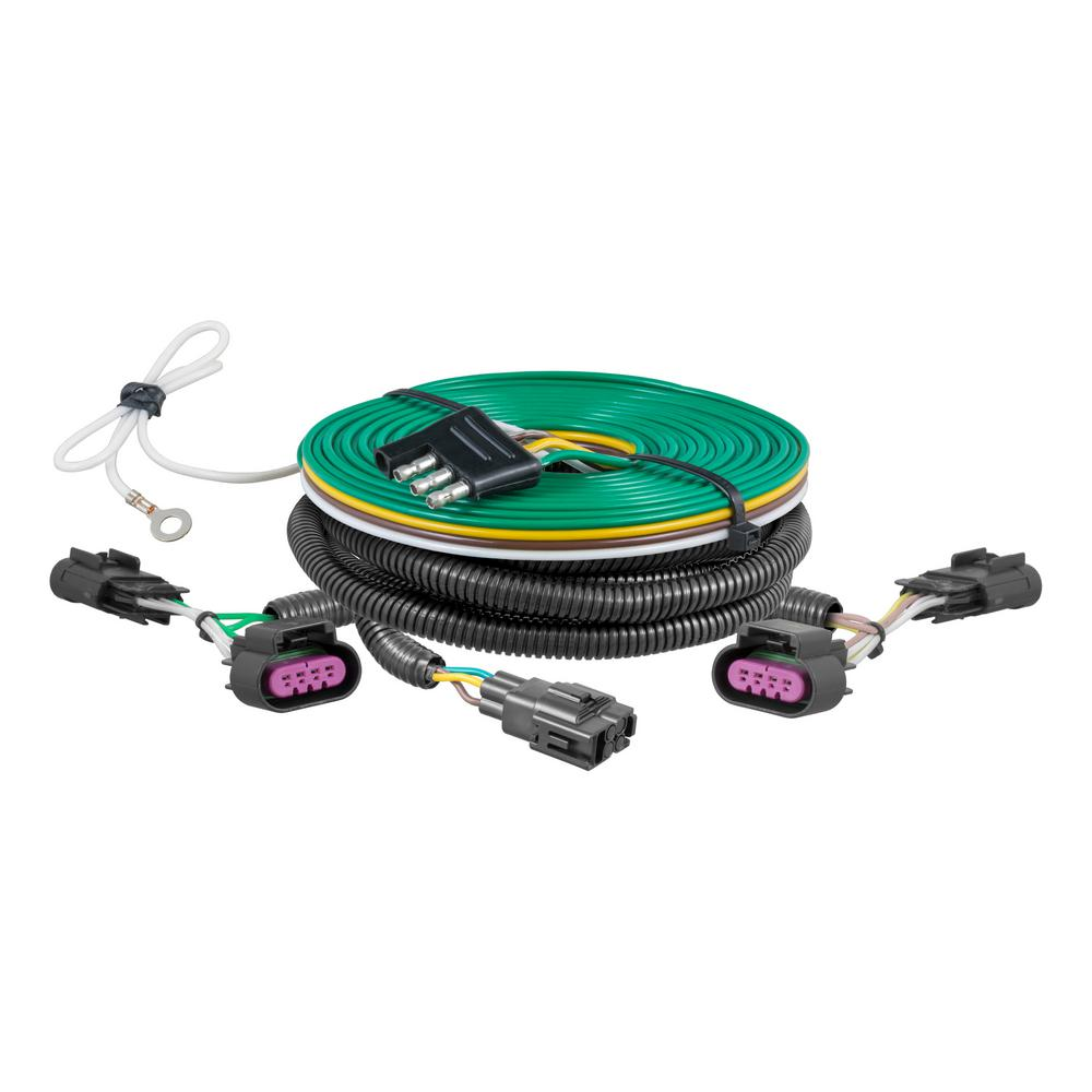 curt custom towed vehicle rv wiring harness 58900 the. Black Bedroom Furniture Sets. Home Design Ideas