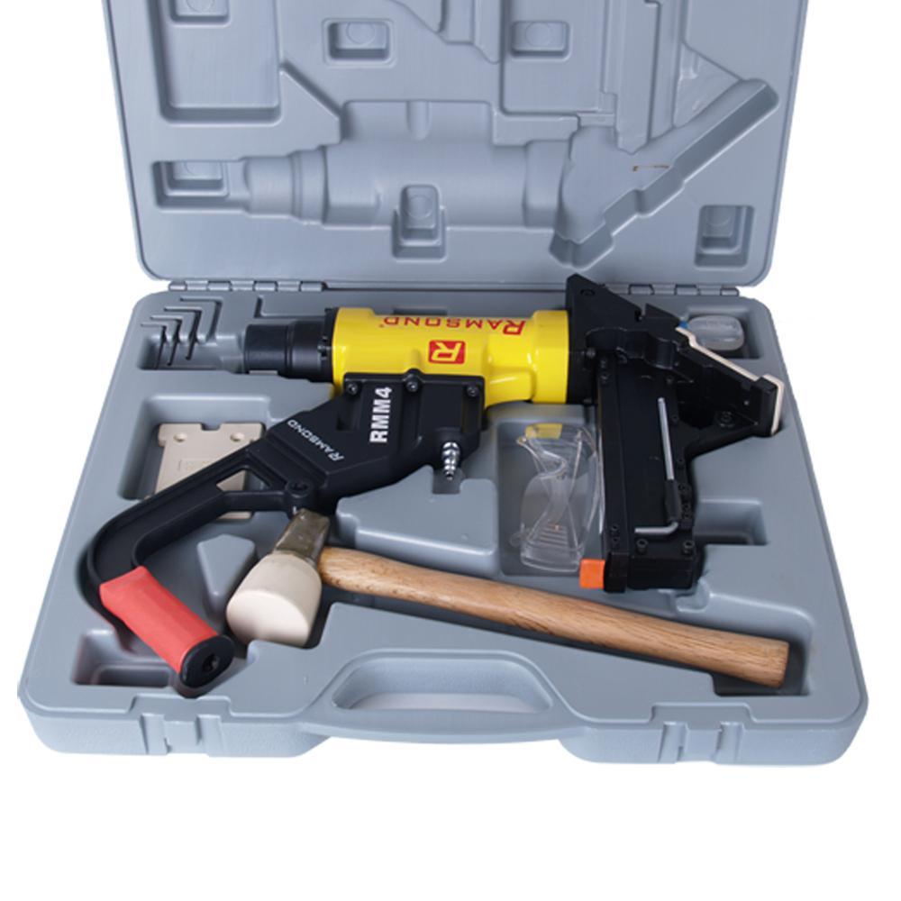 Ramsond 2-in-1 Air Hardwood Flooring Cleat Nailer and Stapler Gun