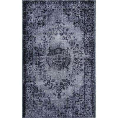 Istanbul Dark Gray 5 ft. x 8 ft. Indoor Area Rug