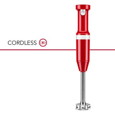 Cordless Variable Speed Empire Red Hand Blender
