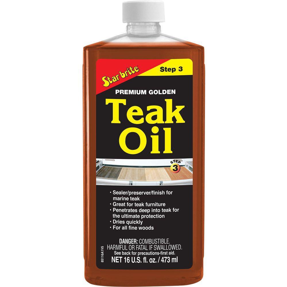 16 oz. Premium Teak Oil