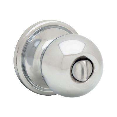 Circa Polished Chrome Bed/Bath Knob