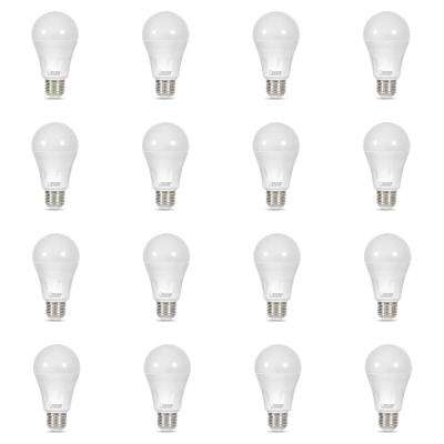 40-Watt Equivalent A19 Dual Mode Laser and Soft White LED Light Bulb, Green (12-Pack)