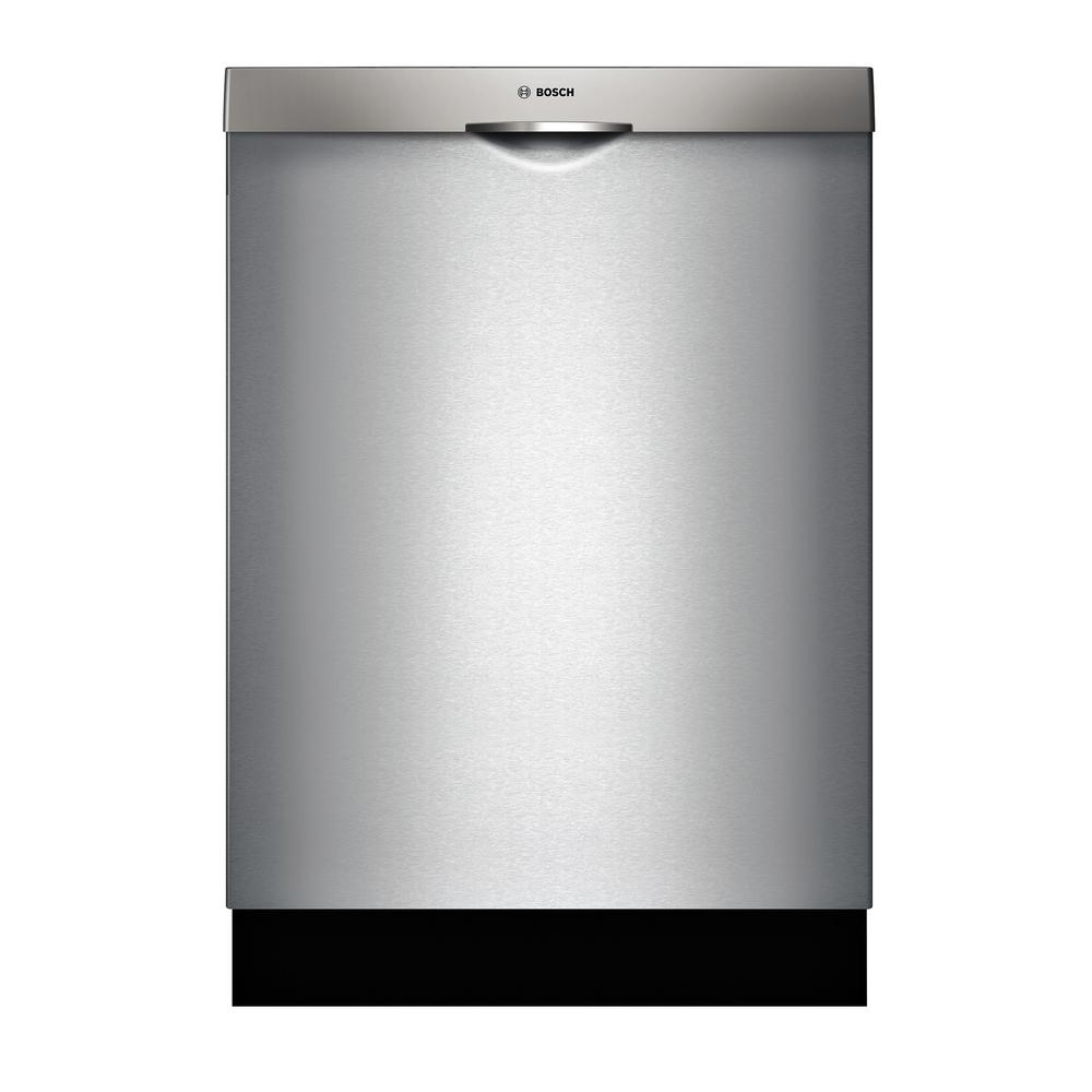 300 Series Top Control Tall Tub Pocket Handle Dishwasher in Stainless