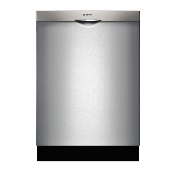 300 Series Top Control Tall Tub Scoop Handle Dishwasher in Stainless Steel with Stainless Steel Tub and 3rd Rack, 44dBA