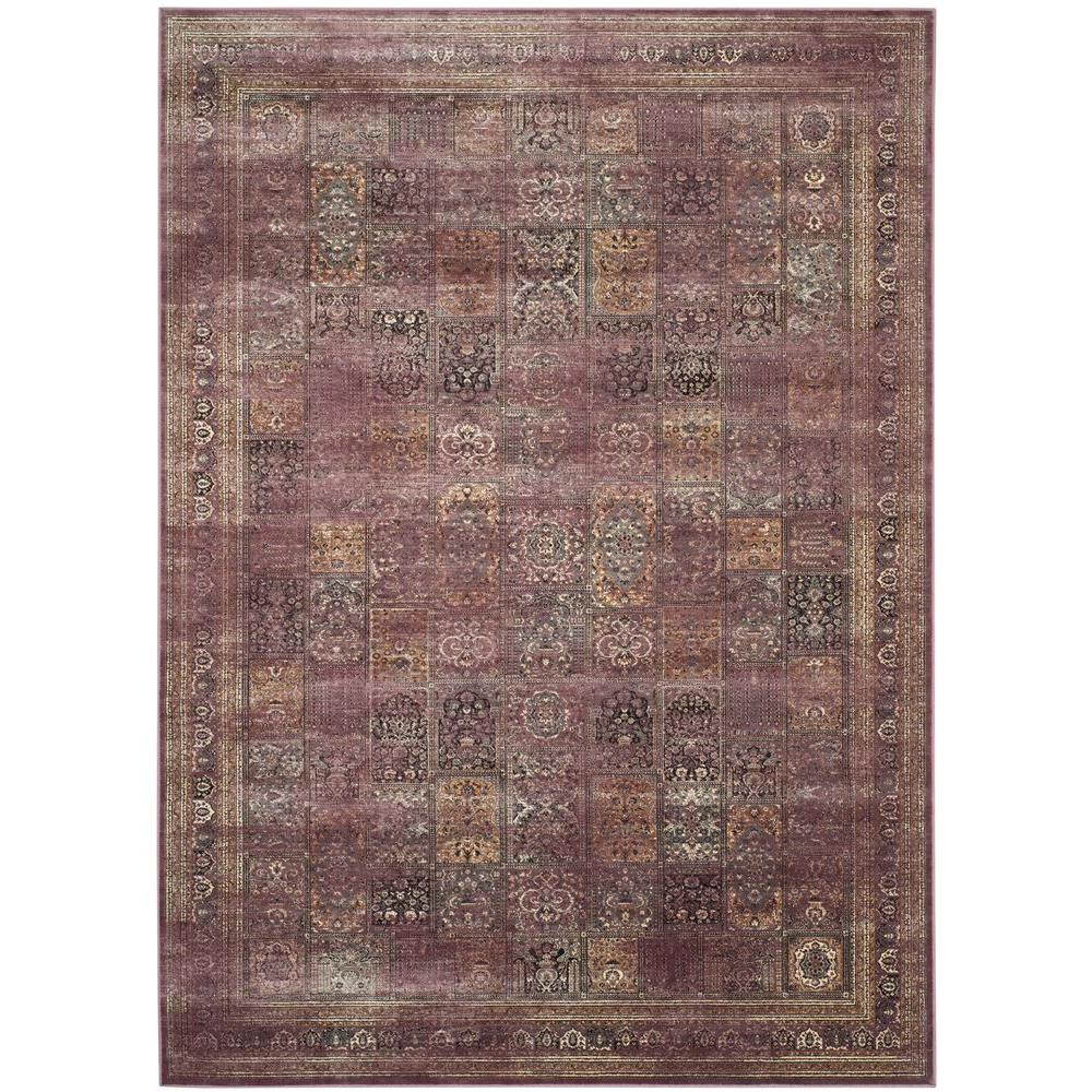 Safavieh Vintage Purple Fuchsia 8 Ft 10 In X 12 Ft 2 In