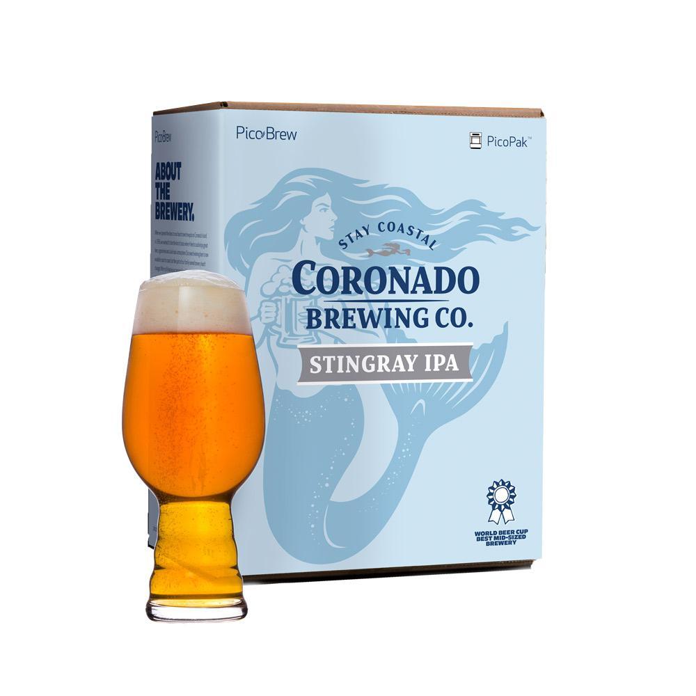 Coronado Stingray IPA PicoPak for Pico Pro Beer Brewing Kit Appliance