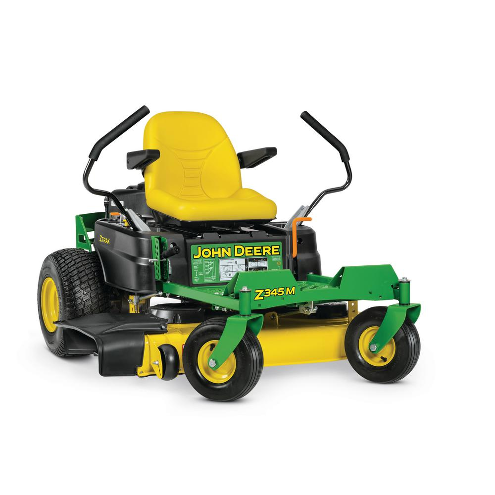 John Deere Zero Turn Mowers : John deere z m in hp dual hydrostatic gas zero