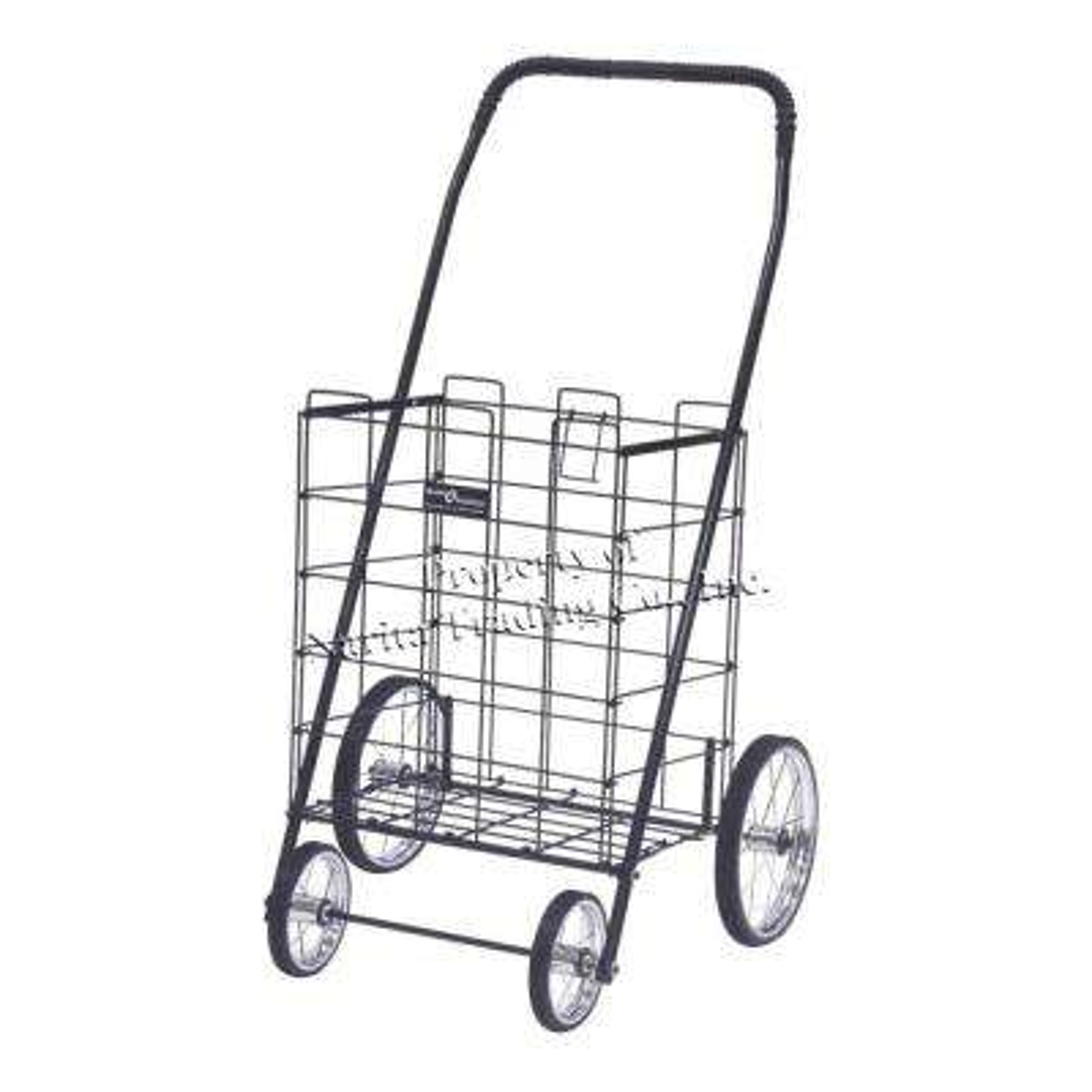 Mitey Shopping Cart in Black