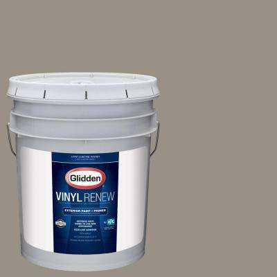 5 gal. #HDGWN51D Stone Castle Greige Low-Lustre Exterior Paint with Primer