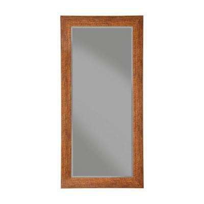 Rustic Honey Tobacco Full Length Leaner mirror