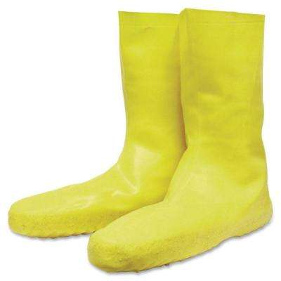 Servus Disposable XXL Size 12 Yellow Latex Booties