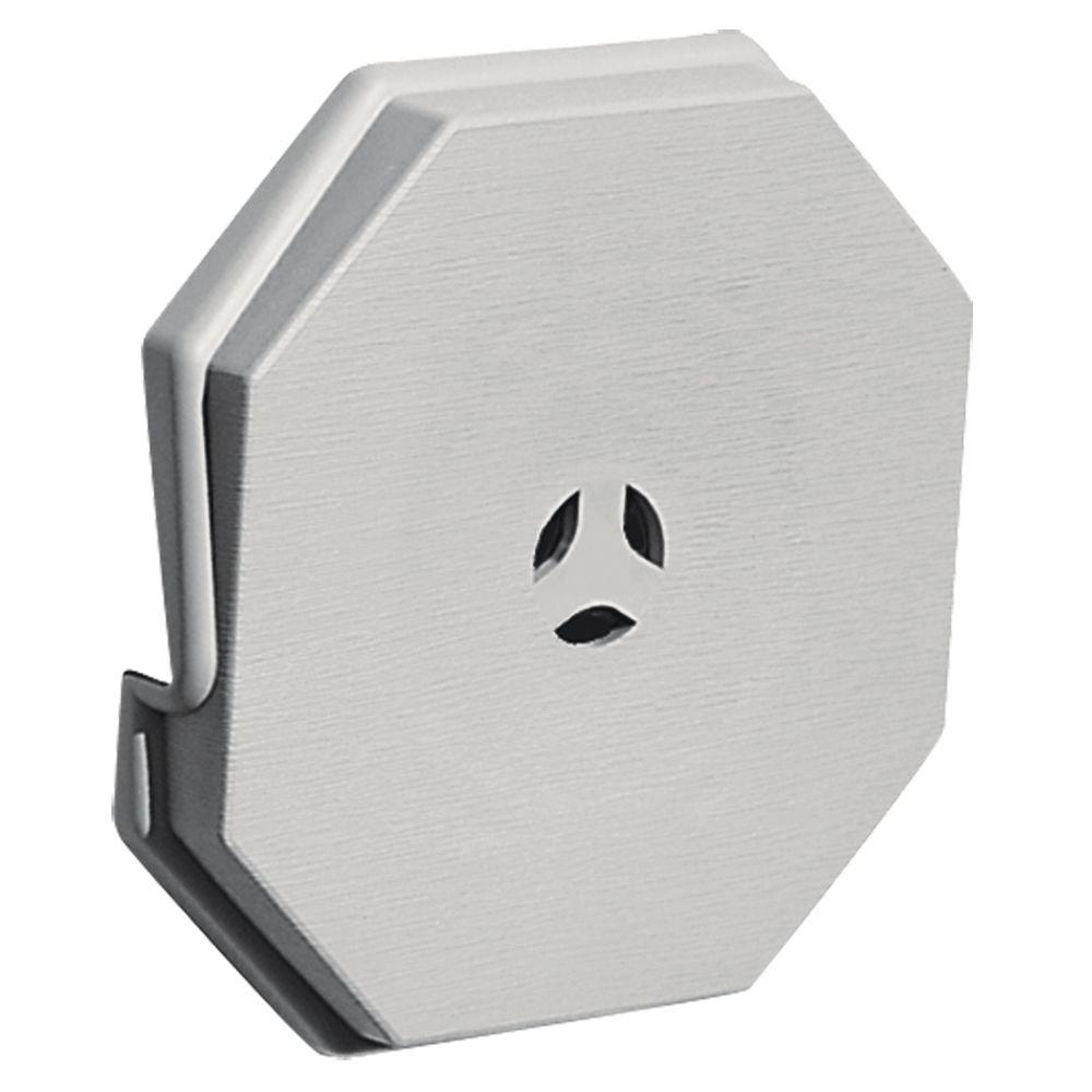 Builders Edge 6.625 in. x 6.625 in. #030 Paintable Surface Mounting Block
