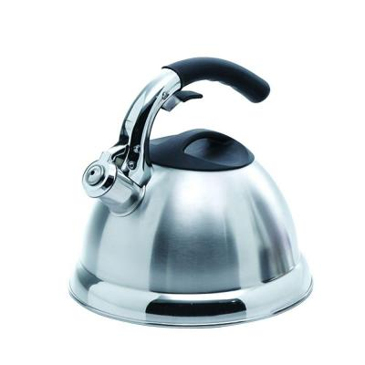 Avalon 12-Cup Stovetop Tea Kettle in Silver