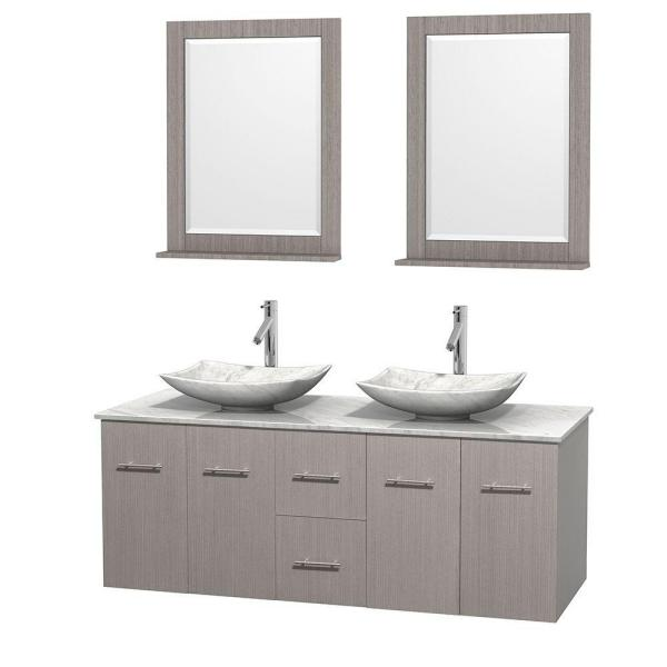 Wyndham collection centra 36 in vanity in white with - Best place to buy bathroom vanities online ...