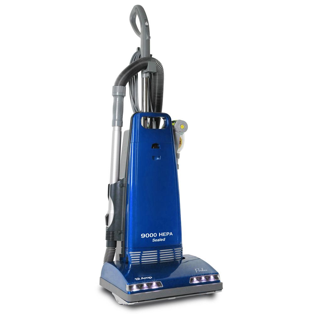 Upright Sealed HEPA Vacuum with 12 Amp Motor Onboard Tools