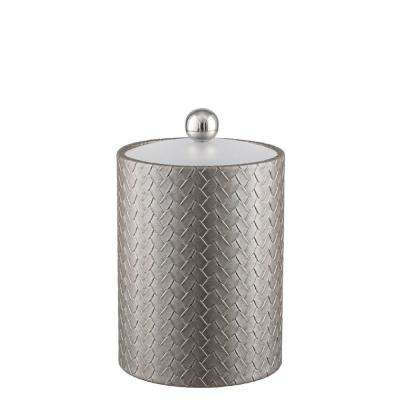 San Remo Silver 2 Qt. Tall Ice Bucket with Lucite Lid
