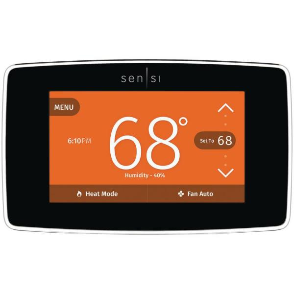 Image result for Emerson Sensi Touch Wi-Fi Smart Thermostat ST75W