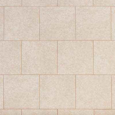 Laguna Bay Cream 12 In X Ceramic Floor And Wall Tile