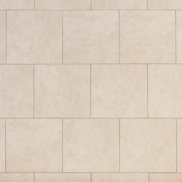 Laguna Bay 12 in. x 12 in. Cream Ceramic Floor and Wall Tile (14.53 sq. ft. / case)