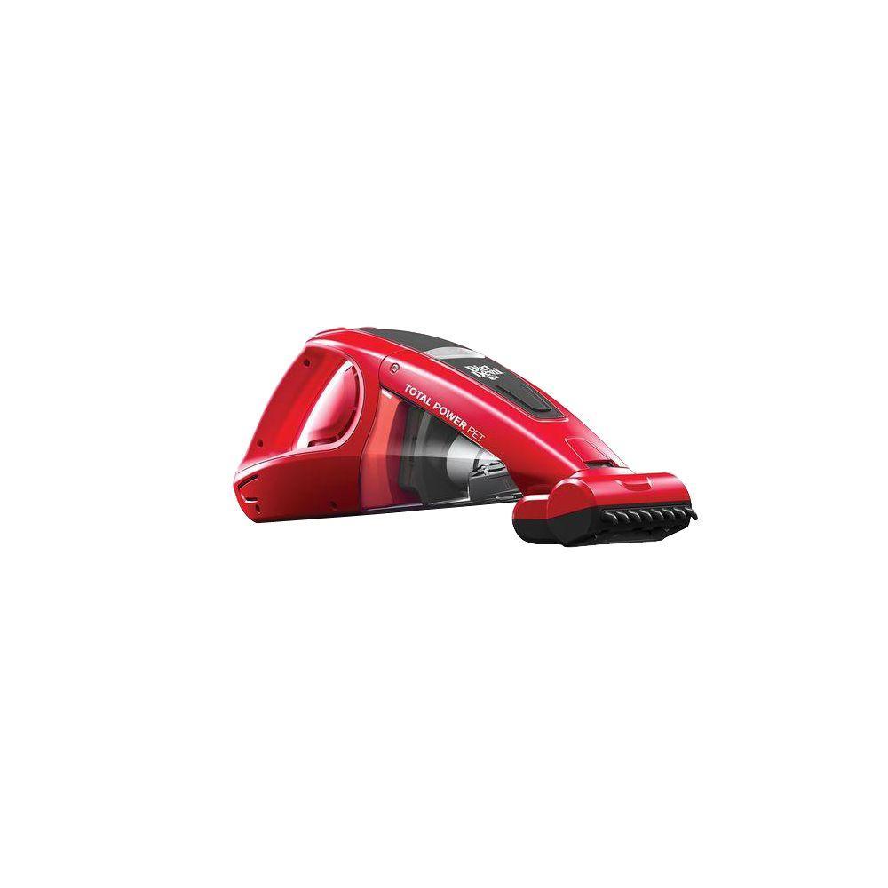 dirt devil total power 15 6 volt cordless pet handheld vacuum cleaner with power brushroll. Black Bedroom Furniture Sets. Home Design Ideas