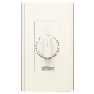 Ivory Electronic Variable Speed Wall Control