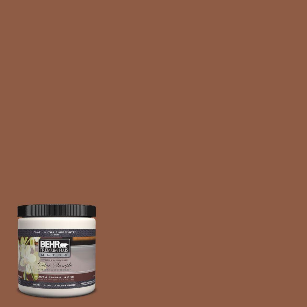 BEHR Premium Plus Ultra 8 Oz. #UL120 3 Artisan Interior/Exterior Paint