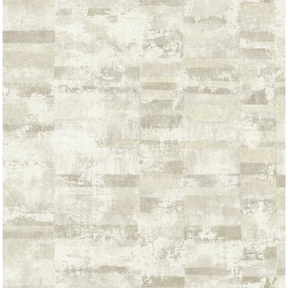 Gray And Off White Stuccoed Brick