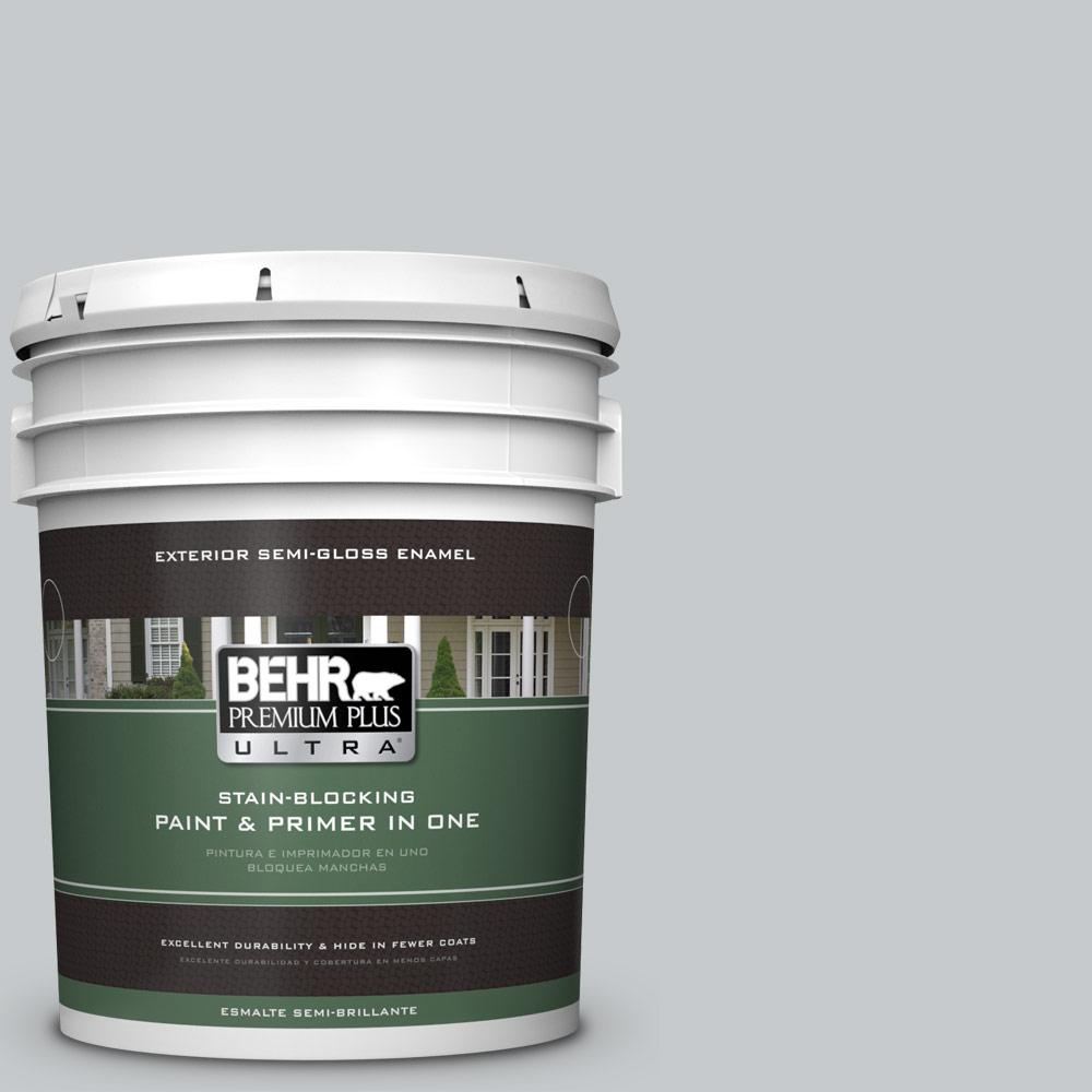 5 gal. #PPU26-17 Fast as the Wind Semi-Gloss Enamel Exterior Paint