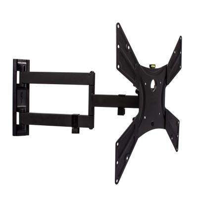 Universal Ultra Slim Low-Profile Full-Motion TV Wall Mount Kit for most 23 in. - 55 in. TVs