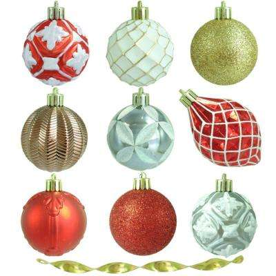 2.3 in. Pepperberry Lane Shatter-Resistant Ornament (101-Count)