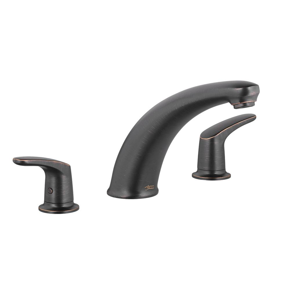 American Standard Colony Pro 2-Handle Deck-Mount Roman Tub Faucet in ...