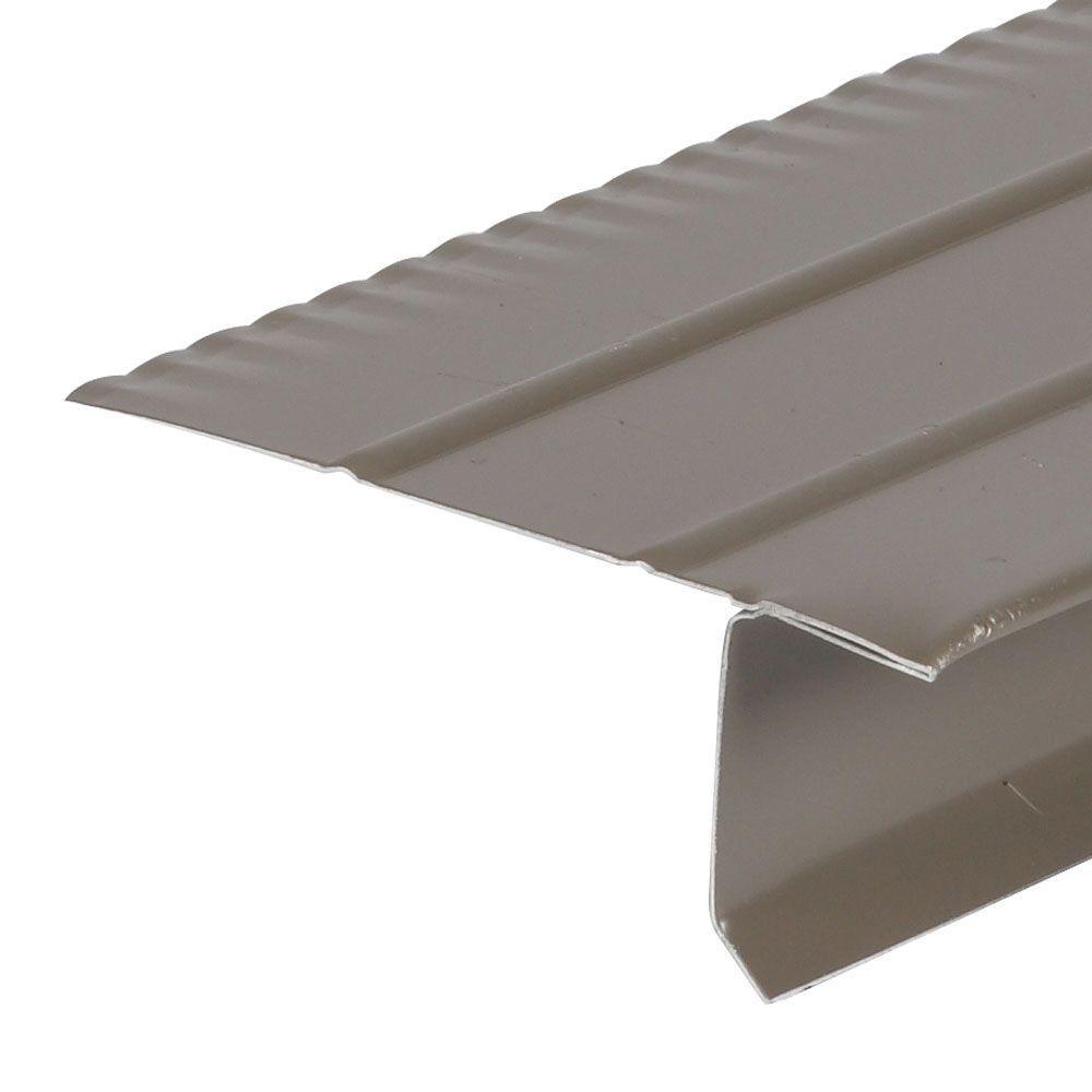 Amerimax Home Products F4 1 2 Bronze Aluminum Drip Edge